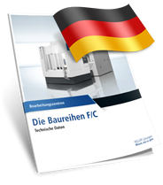 Heller F/C sorozat technikai adatlap Német nyelvű